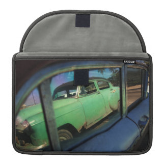 Cuban car reflection MacBook pro sleeve