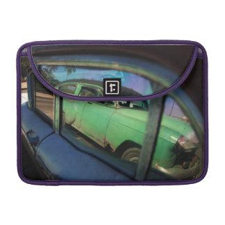 Cuban car reflection MacBook pro sleeve