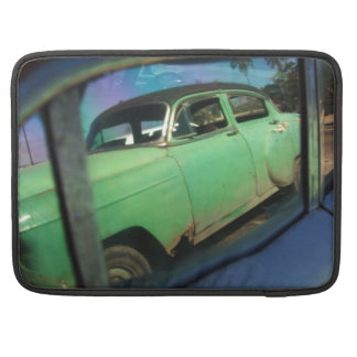 Cuban car reflection MacBook pro sleeves