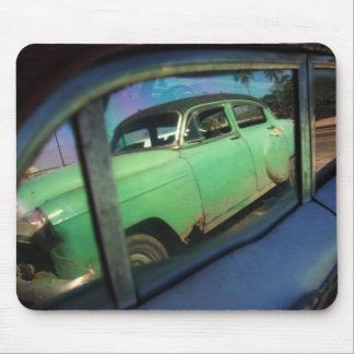 Cuban car reflection mouse pad