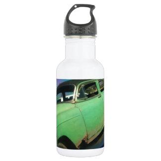 Cuban car reflection 18oz water bottle