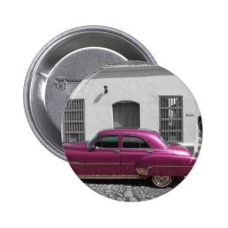 Cuban Cars 4 Button