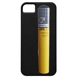 Cuban Cigar black and gold iPhone SE/5/5s Case