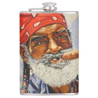Cuban cigar hip flask