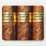Cuban Cigars Habana Mousepad Mouse Pad