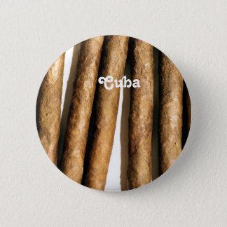Cuban Cigars Pinback Button