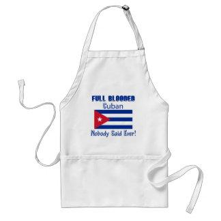 Cuban citizen design adult apron