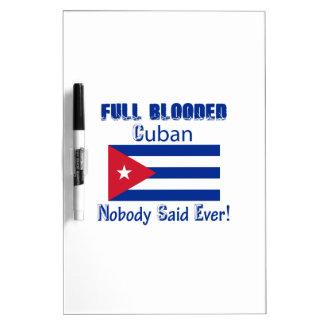 Cuban citizen design Dry-Erase board