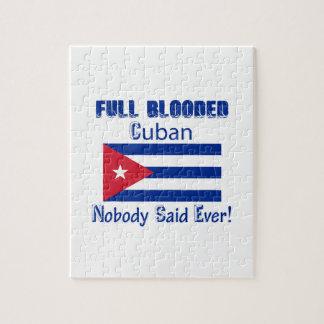 Cuban citizen design jigsaw puzzle