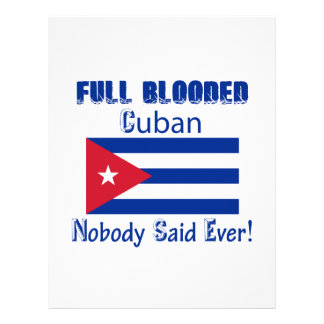 Cuban citizen design letterhead