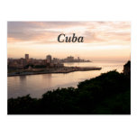 Cuban Cityscape Postcard