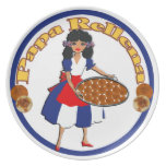 Cuban Cuisine Appetizers - Papa rellena plate