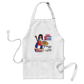 Cuban Cuisine Aprons-Imperial Rice/Arroz Imperial Adult Apron