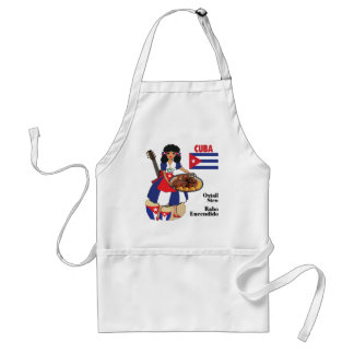 Cuban Cuisine Aprons-Oxtail Stew/Rabo Encendido Adult Apron