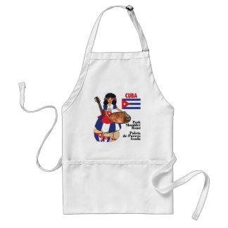 Cuban Cuisine Aprons-Pork Shoulder Roast Adult Apron