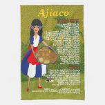 Cuban Cuisine Recipe Kitchen Towel-Ajiaco Recipe