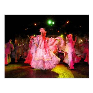 Cuban Dance Performance Postcard