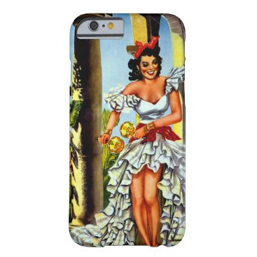 Cuban Dancer Vintage Travel iPhone 6 Case