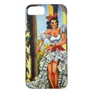 Cuban Dancer Vintage Travel iPhone 7 Case