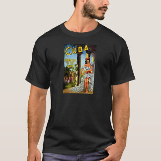 Cuban Dancer Vintage Travel T-Shirt
