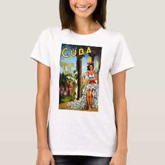 Cuban Dancer Vintage Travel T-Shirt