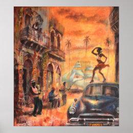 Cuban dances poster