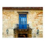 Cuban Door Postcards