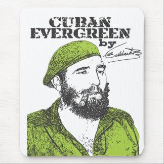 Cuban Evergreen Mouse Pad