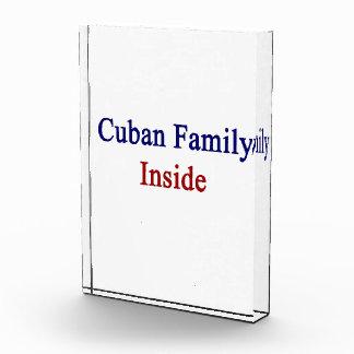 Cuban Family Inside Awards