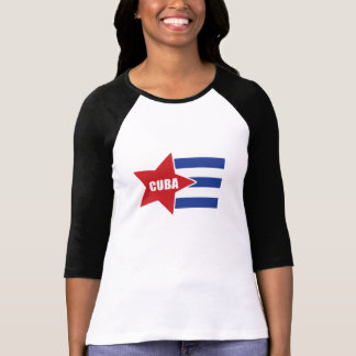 Cuban Fashioned Flag T-Shirt