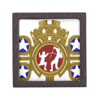 Cuban Fencing.png Premium Keepsake Box