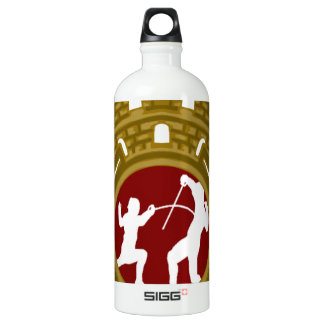 Cuban Fencing.png Water Bottle
