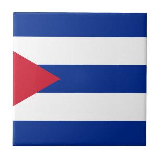 Cuban Flag - Bandera Cubana - Flag of Cuba Ceramic Tile