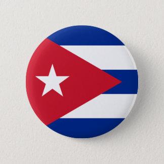 Cuban Flag - Bandera Cubana - Flag of Cuba Pinback Button