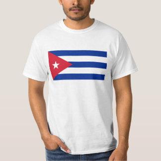 Cuban Flag - Bandera Cubana - Flag of Cuba T-Shirt