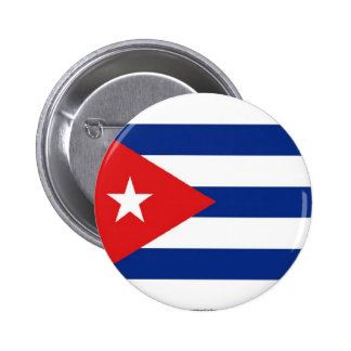 Cuban flag button