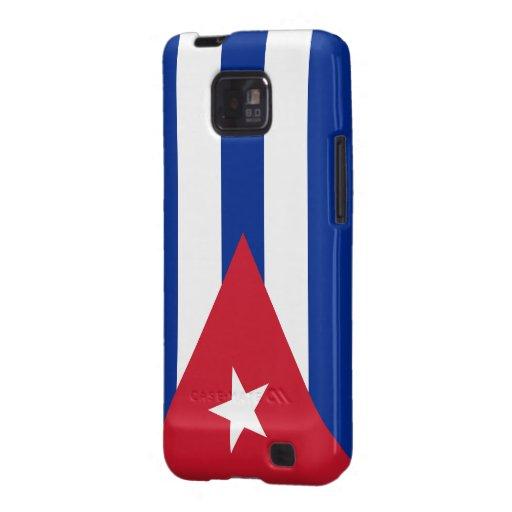 Cuban Flag Galaxy SII Covers