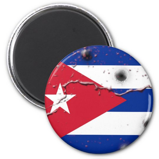 Cuban Flag Magnet
