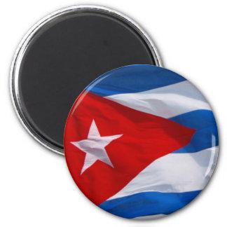cuban flag magnet