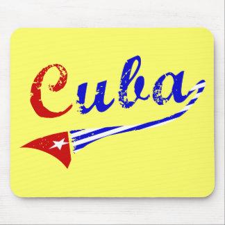Cuban Flag Mouse Pad