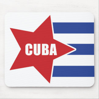 Cuban flag Mousepad