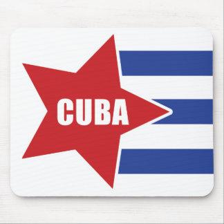Cuban flag Mousepad