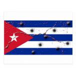 Cuban Flag Postcard