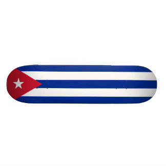 Cuban Flag Skateboard