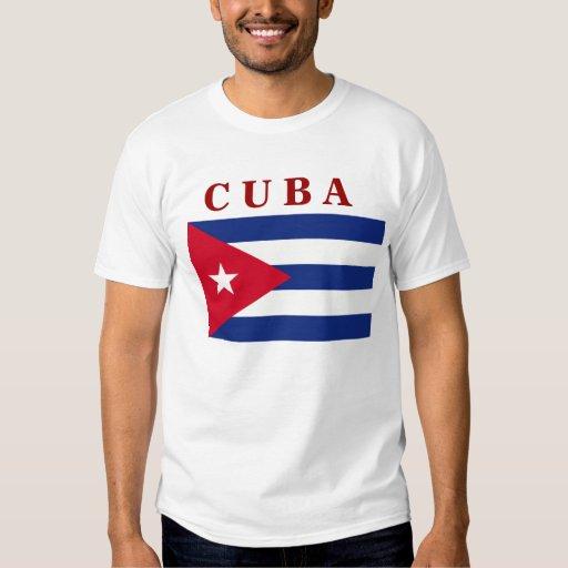 Cuban Flag Tee Shirt