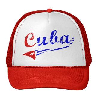Cuban Flag Trucker Hat