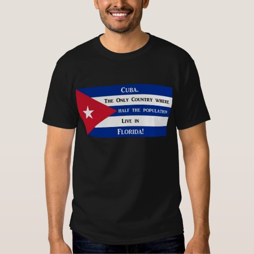 Cuban Flag Tshirts