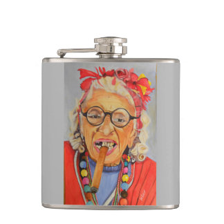 Cuban Flower Flask