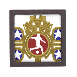 Cuban Football.png Premium Keepsake Box