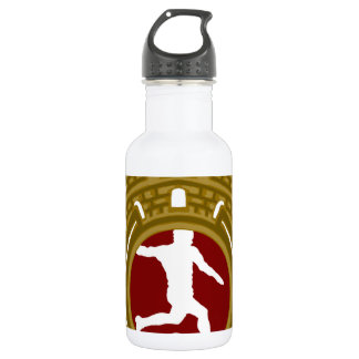 Cuban Football.png Stainless Steel Water Bottle